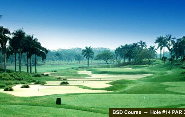 Damai Indah Golf Country Club BSD Course
