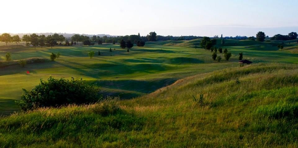 Golf de Grand Lyon Chassieu - Les Vallons - 18T