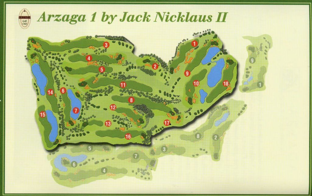 Arzaga Gary Player + Nicklaus Golf Club