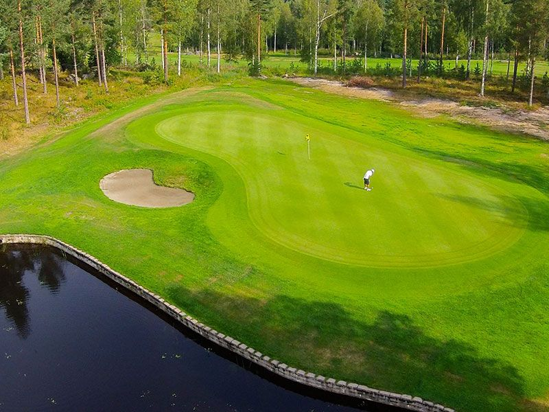 Öjestrand Golf Club - 18 hålsbanan