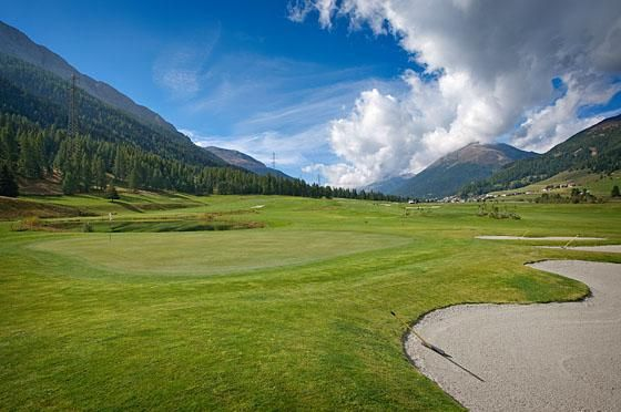 Engadine Golf Club - 4 Zuoz 9-Loch ab Tee 10